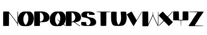 ElegantAgege Font UPPERCASE