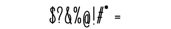 ElegantSans-SemiBold Font OTHER CHARS