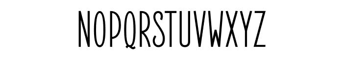 ElegantSans-SemiBold Font UPPERCASE
