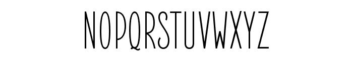 ElegantSans Font UPPERCASE