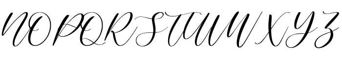 Elegante Font UPPERCASE