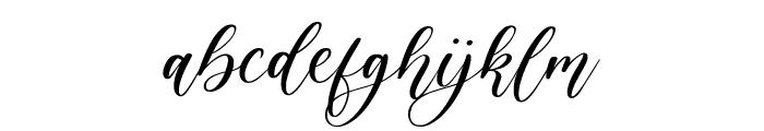 Elegante Font LOWERCASE
