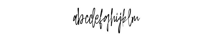 Elemantors Alternate Font LOWERCASE