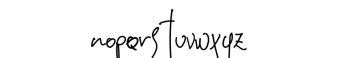Eleonara Font LOWERCASE