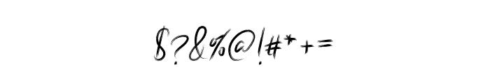 Elisenda Regular Font OTHER CHARS