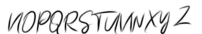 Elisenda Regular Font UPPERCASE