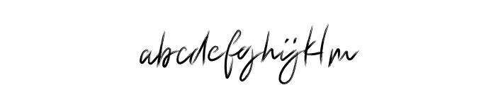 Elisenda Regular Font LOWERCASE