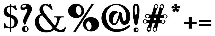 ElleXit Pro Bold Font OTHER CHARS