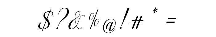 Ellizabeth Font OTHER CHARS