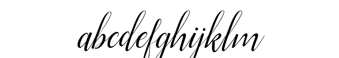 Ellizabeth Font LOWERCASE