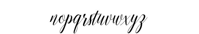 EmainellScript Font LOWERCASE