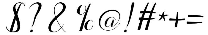 Emalia Font OTHER CHARS