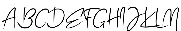 Emolka Font UPPERCASE