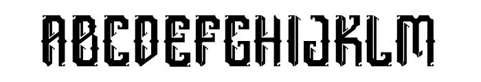 England Font UPPERCASE