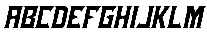 Ensure Italic Font UPPERCASE