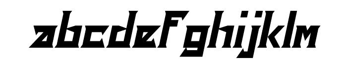 Ensure Italic Font LOWERCASE