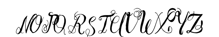 Esmeralda Font UPPERCASE