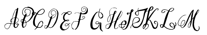 EsmeraldaRegular Font UPPERCASE