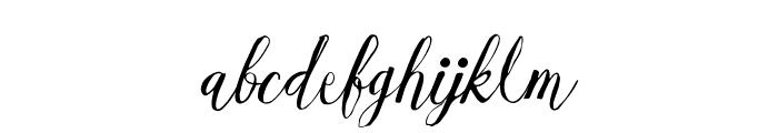 EsmeraldaRegular Font LOWERCASE