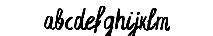 Espa Extended Font LOWERCASE