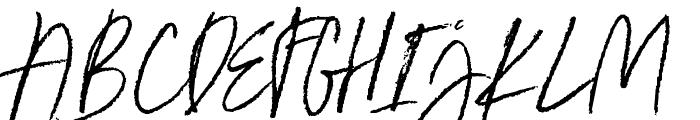 Ester Clark Font UPPERCASE