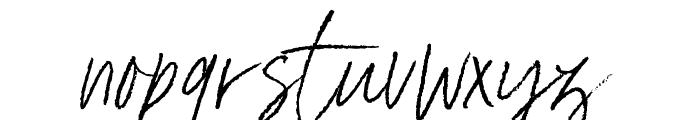 Ester Clark Font LOWERCASE