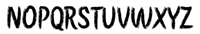 Etchas Font UPPERCASE
