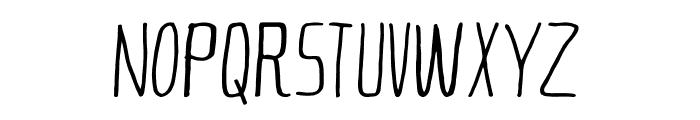 Eternal Future Font Font UPPERCASE