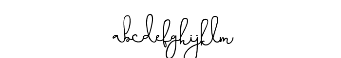 Eternity-Regular Font LOWERCASE