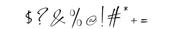 Ethiopia Font OTHER CHARS