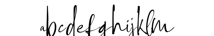 Ethiopia Font LOWERCASE