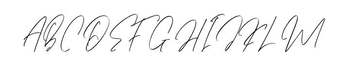 EtiquetteRegular Font UPPERCASE