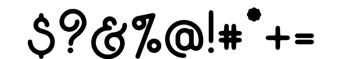 EverydaySansSerif-Regular Font OTHER CHARS