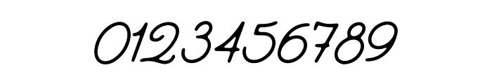 EverydayScript-Regular Font OTHER CHARS