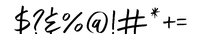 Exceptional  Alt Regular Font OTHER CHARS
