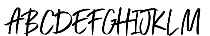 Exceptional  Alt Regular Font UPPERCASE