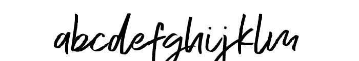 Exceptional  Alt Regular Font LOWERCASE
