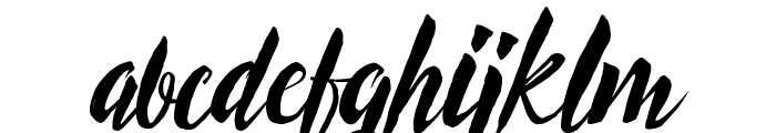 Exoticus Font LOWERCASE
