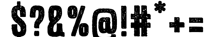 Expat Distressed Font OTHER CHARS
