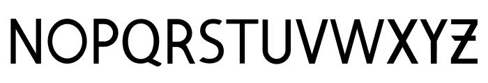 Exquisite Font UPPERCASE
