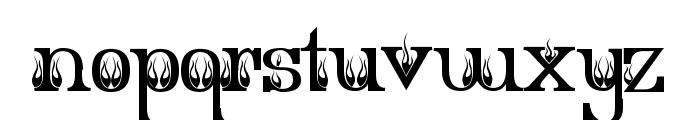 Extra Hot Secretary Font LOWERCASE