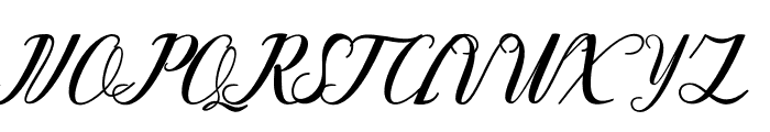 Eyedogan Font UPPERCASE