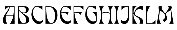 FALLEN BISHOP Font UPPERCASE