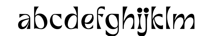 FALLEN BISHOP Font LOWERCASE