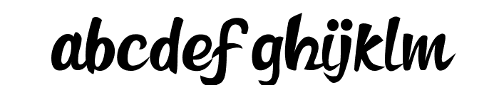 FREDERICO Font LOWERCASE