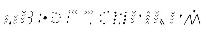 FROHLINEITALIC Font LOWERCASE