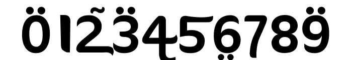 FTF Ahlan Ve Arabez-Regular Font OTHER CHARS