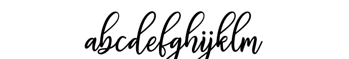 FabulousScript Font LOWERCASE