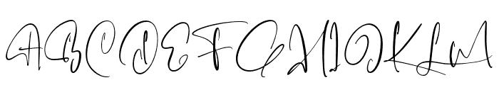 Fairbanks Font UPPERCASE