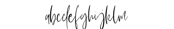 Fairbanks Font LOWERCASE